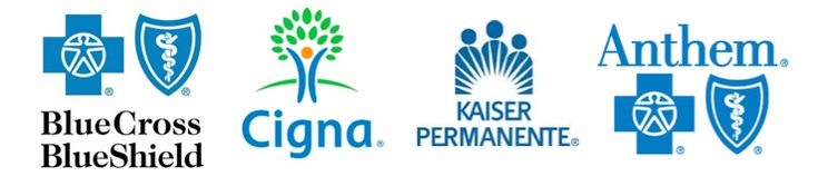 Now In Network With Insurances: Blue Cross, Cigna, Kaiser, And Anthem Blue Cross/Blue Shield