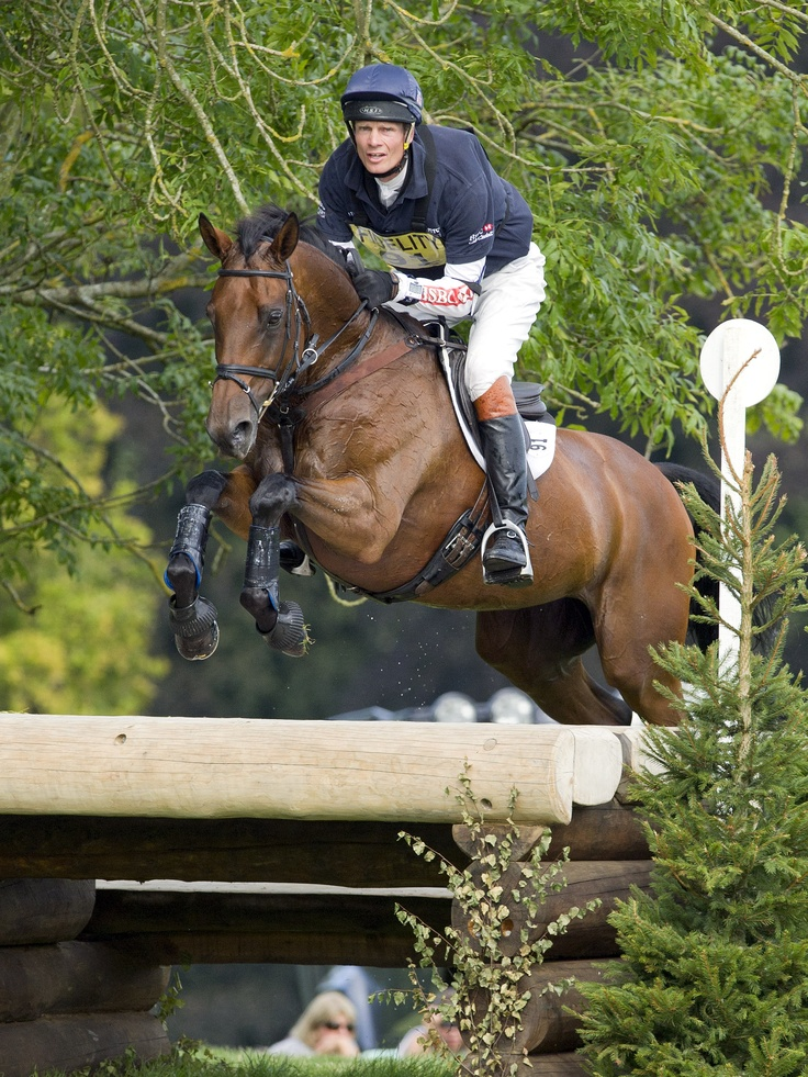Option Five - William Fox-Pitt & Seacookie (Cross Country)