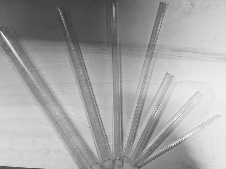 7 tubi in Plexiglass per lavorare con le bolle di sapone € 35