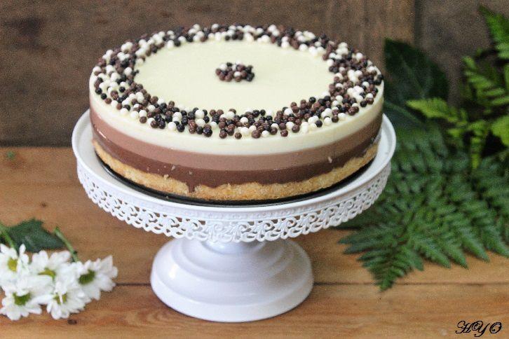 Hogar y Ocio: Tarta tres chocolates