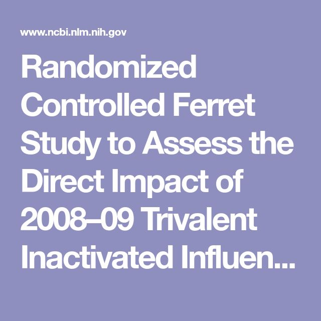 Randomized Controlled Ferret Study to Assess the Direct Impact of 2008–09 Trivalent Inactivated Influenza Vaccine on A(H1N1)pdm09 Disease Risk