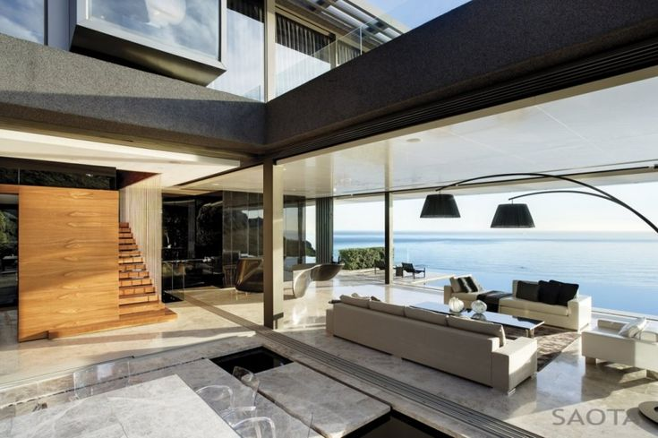 Nettleton 198 by Stefan Antoni Olmesdahl Truen Architects. A 6 bedroom, 7 story Cape Town mansion.
