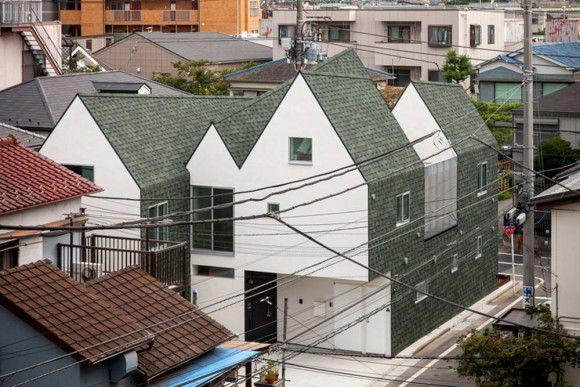 Дом для архитекторов в Японии
