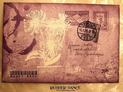 Rubber Dance Skandinavisk Blogg: Lav din egen kuvert i 3 farver