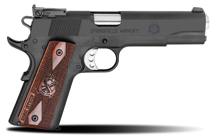 Get the 1911 Range Officer® .45ACP pistol at Springfield Armory. We carry some of the best steel frame handguns available anywhere. Visit our website for more.
