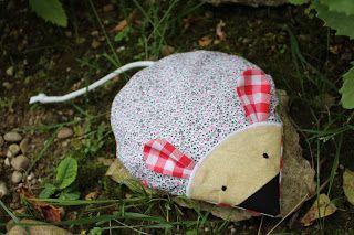Kleine Geschenkidee: Körnermaus mit Inlet, so kann die Hülle gewaschen werden.