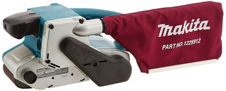 Makita 9903 8.8 Amp 3-Inch-by-21-Inch Variable Speed Belt Sander with Cloth Dust Bag. Powerful 8.8 AMP motor; only 85dB. Variable speed control dial (690-1,440 ft./min.) enables user to match the speed to the application. Auto-tracking belt system tracks belt without adjustment. Innovative design for sanding flush to wall with nose and side of sander. Front grip design for comfortable operation. Dust bag for a cleaner work environment. Long 16.4 ft. power cord for easier maneuverability....