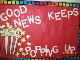 "Maybe use for a bulletin board...""Good testing strategies keep popping up"""