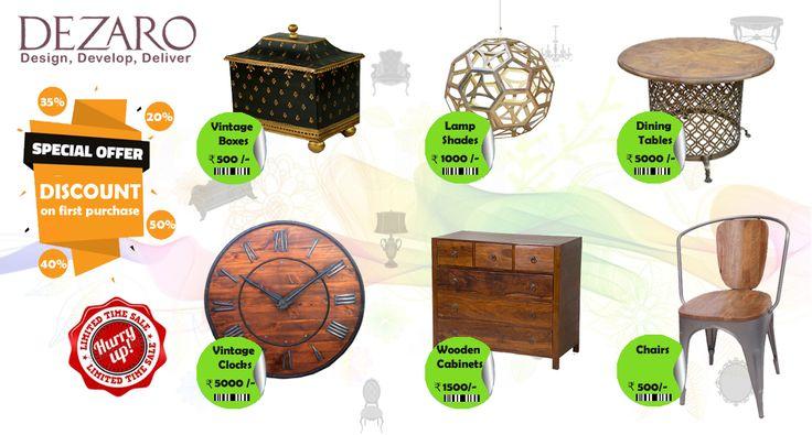 Get you antique furniture now Call Us :- 7727063131 Email Us :- info@dezaro.com Visit Us :- http://www.dezaro.com