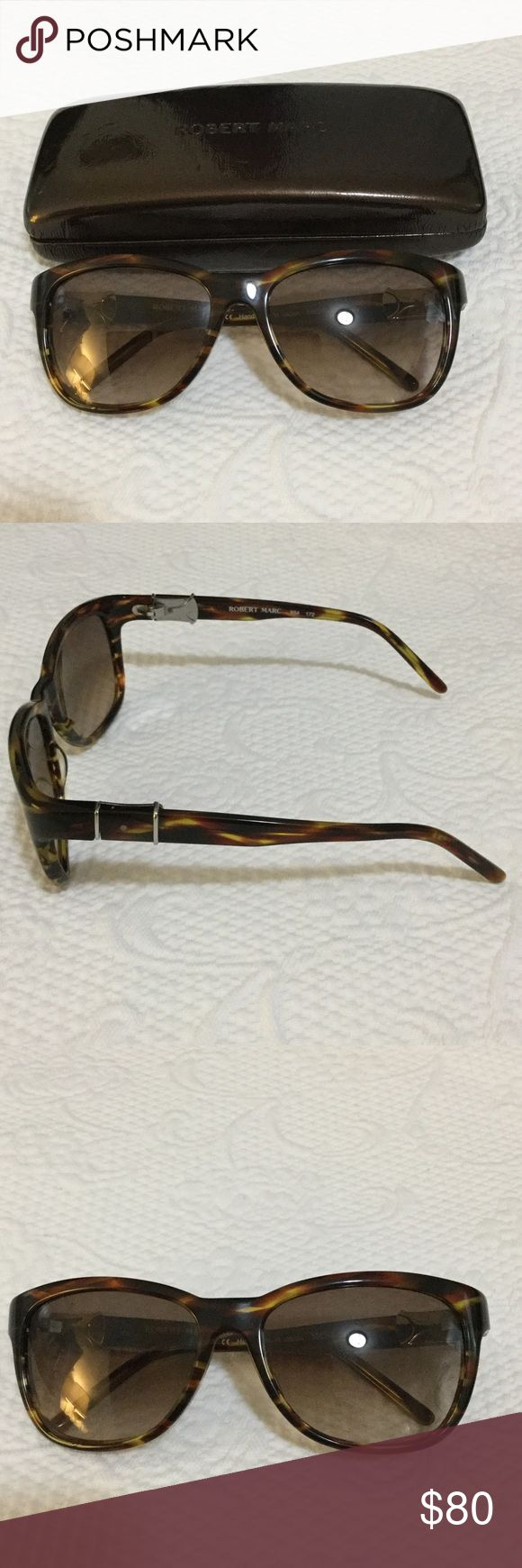 Robert Marc Sunglasses Robert Marc Tortoise Shell Sunglasses- perfect condition Robert Marc Accessories Glasses