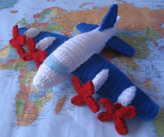 Crochet P-3 Orion, I want one!