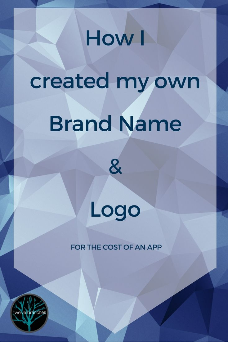 Branding your new business on the cheap if you already have the tools and a smidge of artistic ability. ...