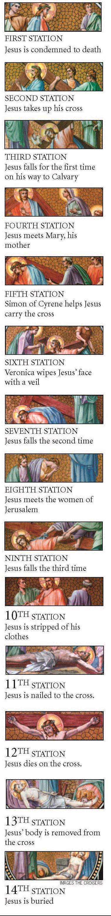 Stations of the Cross and other Lenten traditions http://osv.cm/UVHN5d (PDF) #Lent #catholics