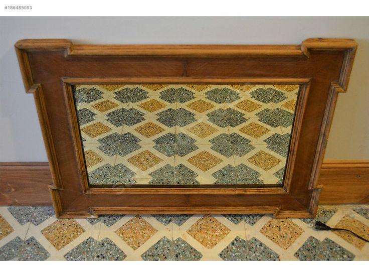 Ceviz ağacından çok şık taş ayna - Antika Ayna ve Çeşitli Antika Dekorasyon Ürünleri sahibinden.com'da - 186485093