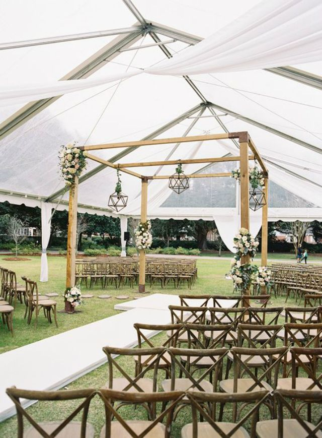 trouwen tent