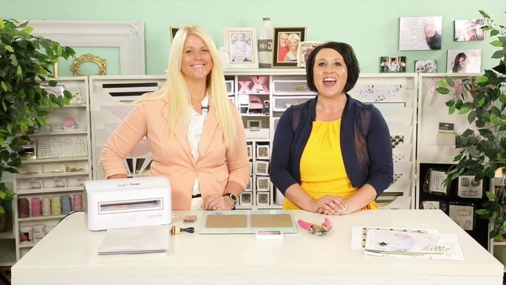 Teresa Collins and Kristine McKay show you how to use the incredible Cut 'n' Boss
