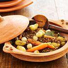 Linzen met wortelen en aardappelen - recept - okoko recepten