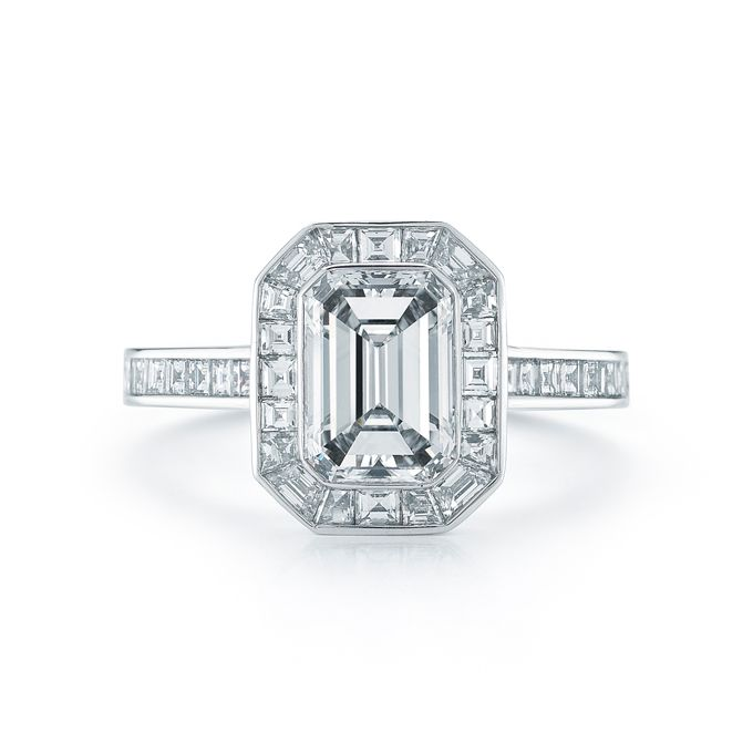 17 best ideas about emerald cut engagement on