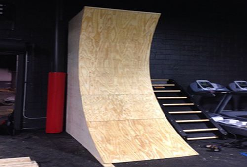 Warped Wall Mini Blueprint Diy Obstacle Course Rock Walls Pinterest Minis The