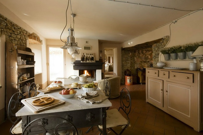 italian country kitchen for the home the o