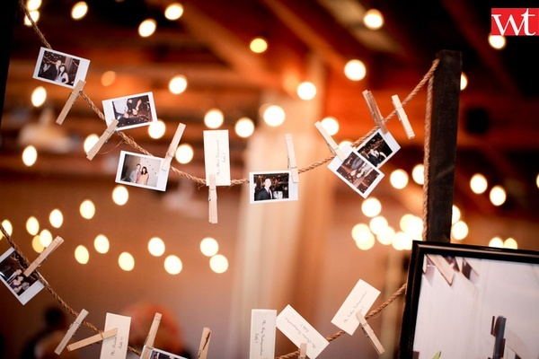 Photo wedding decoration
