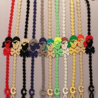 Cruciani braccialetto Pirata con Bandana