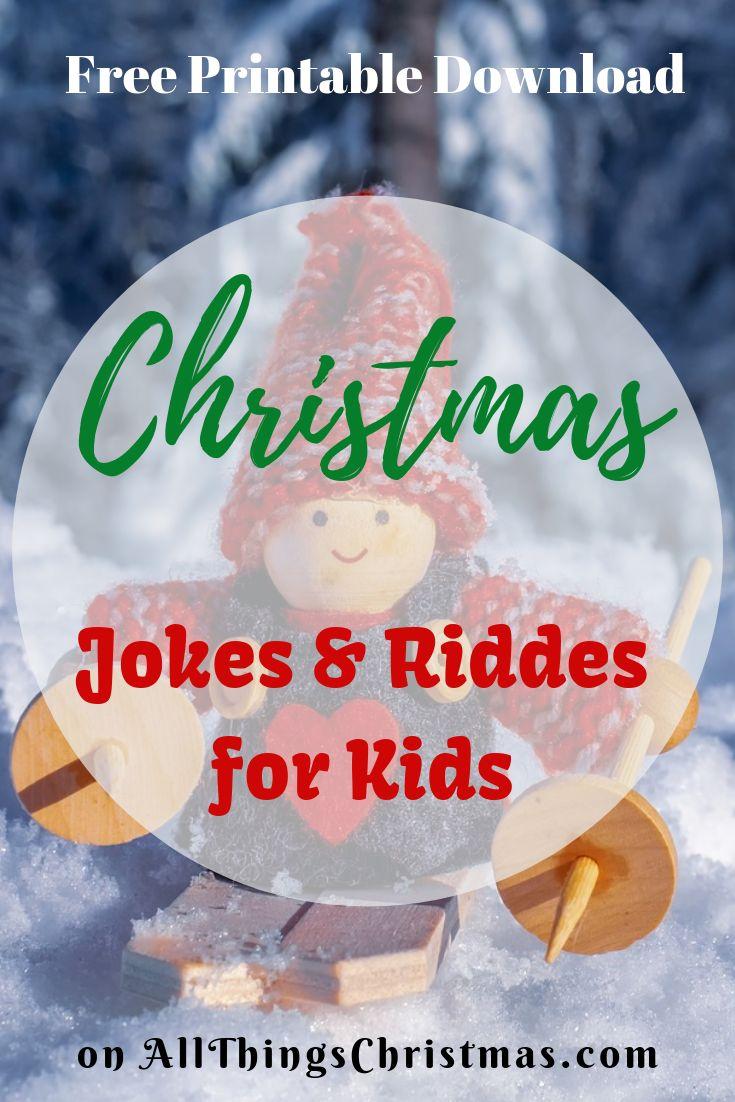Funny Christmas Jokes for Kids, Christmas Riddles Merry