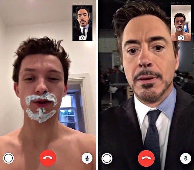 """14.1k Likes, 77 Comments - Snap Chat Britishnerdz (@2britishnerdz) on Instagram: """"I was just trying to be like you lol . Yep @tomholland2013 really does want to impress…"""""""