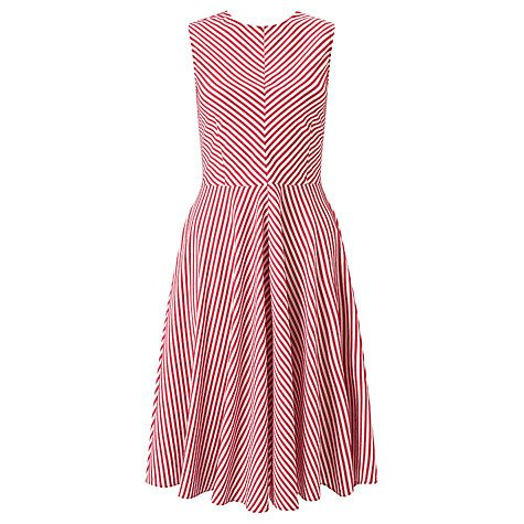 Buy Marella Magenta Stripe Dress, Ruby Online at johnlewis.com