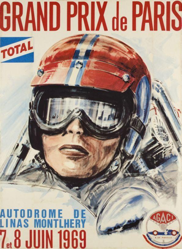 Autodrome Linas-Montlhéry - Grand Prix de Paris 7 - 8 June 1969.