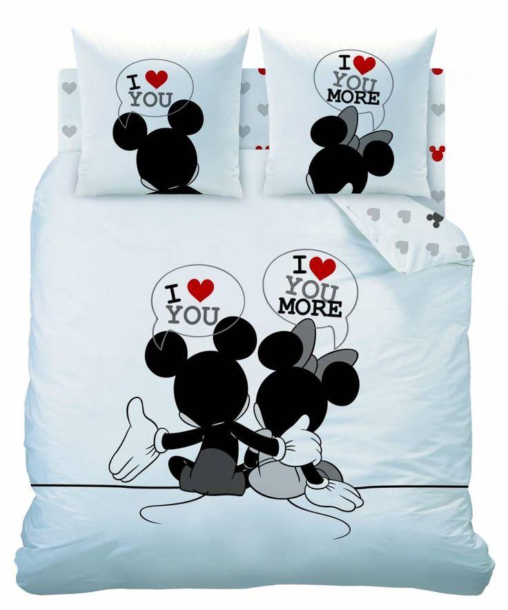Disney Minnie Mouse The End - Dekbedovertrek - Tweepersoons - 200 x 200 cm - Wit/Multi  54,95 euro
