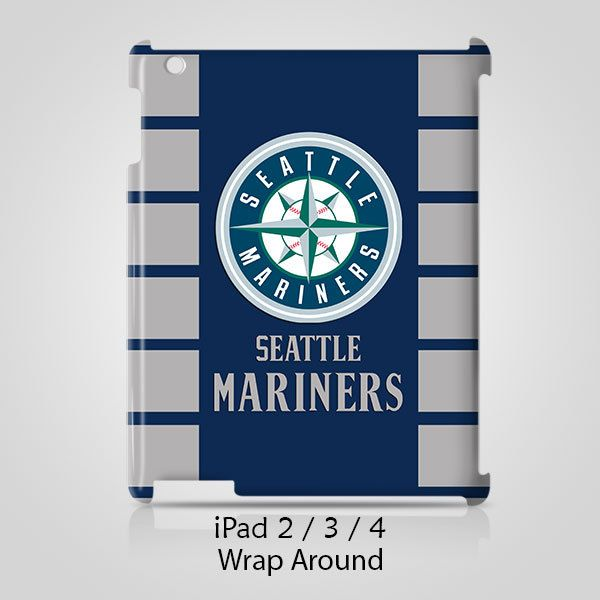 Seattle Mariners Logo iPad 2 3 4 Case