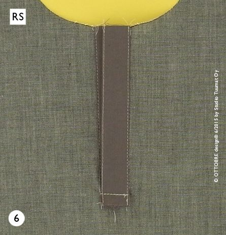 The OTTOBRE design® Blog: Front Placket tutorial from OTTOBRE design® 6/2015