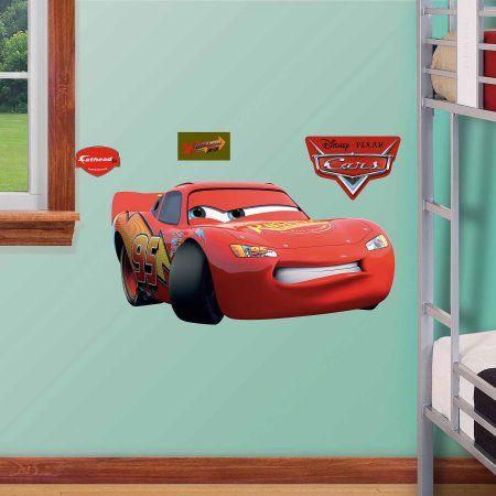 Lightning McQueen Fathead Jr, Multicolor