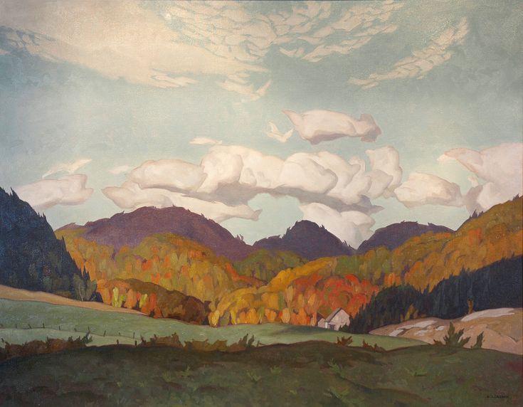 A.J.Casson Farmland at Avoca Quebec