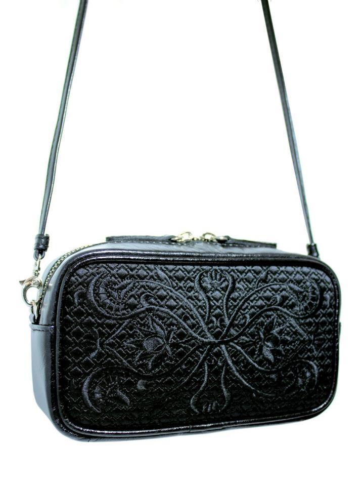 Skóra i haft / Leather and embroidery  Więcej / more: http://goshicoid.com/