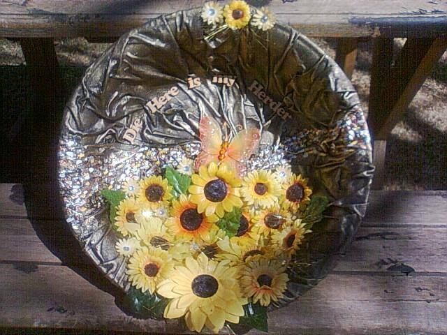 tokreen  and sunflowers