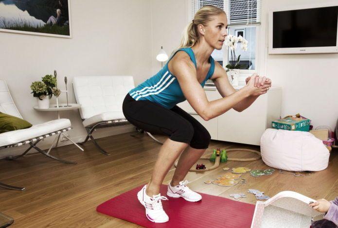 Bygg muskler hjemme - med eller uten vekter - Vektklubb