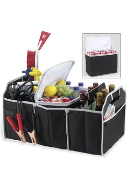 I think I could do something very similar with the Room to Grow Utility Bin from Thirty One Gifts... I could use the double thermal organizer for the middle. and a File N File for the wine... Sounds like a good idea to me. If you are interested, you can get something as versatile from Thirty One Gifts by hosting a party.
