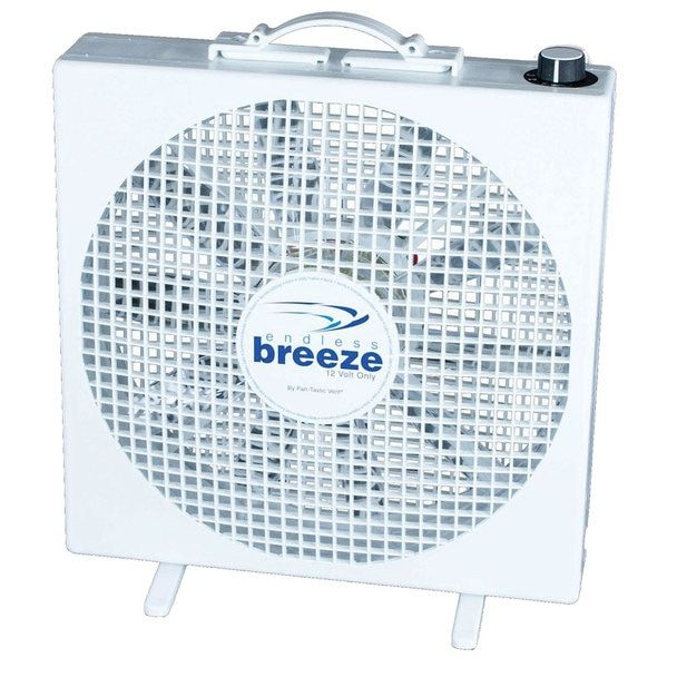 Fan Tastic 01100wh Endless Breeze 12v Portable Standing Fan Standing Fans Box Fan Portable Fans
