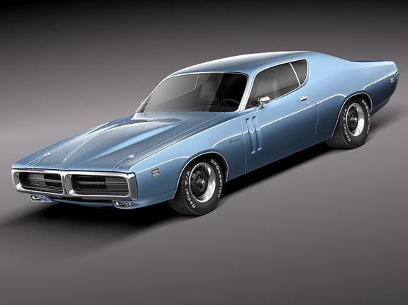 1971 Dodge Charger R/T.  Don't care what is under the hood, just that it is a great looking car