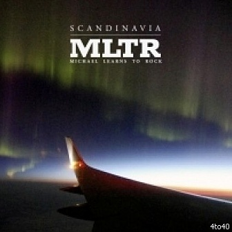The front cover of our new album Scandinavia.  The Producer of our two first albums, Oli Poulsen, took this picture himself flying over Iceland. With his mobile phone!
