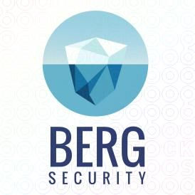 berg security logo by logoturn