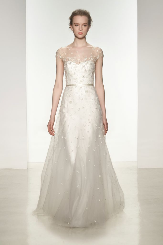 Ellie Wedding Dress by Christos via @Dress for the Wedding