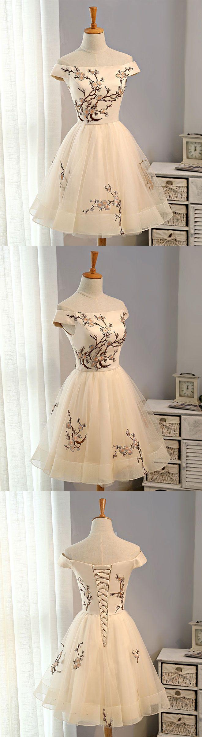 cute short prom dress, homecoming dress, party dress