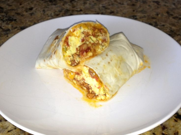 New Mexican Chorizo Crockpot Breakfast Burrito... Justmakeit.net ...