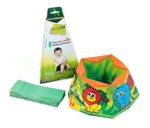 ComfyDo Baby Kind Faltbarer Tragbar Reise Unterwegs Karton Töpfchen Trainer Toilettensitze Toilettentrainer Einmal-Auflage, Jungle Fun ComfyDo http://www.amazon.de/dp/B00BEFAFAU/ref=cm_sw_r_pi_dp_QJAtvb0MTG5VV