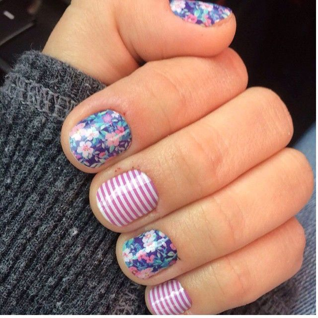 ditsy floral www.mdp.jamberrynails.net