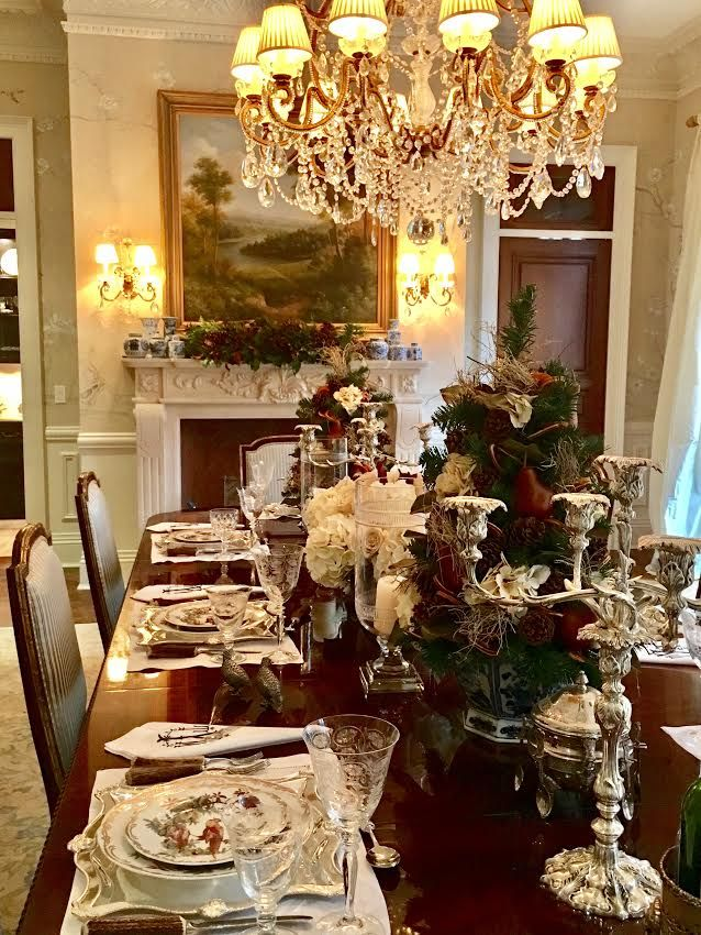 Table Set For Christmas Dinner 1726 best christmas table images on pinterest | christmas ideas