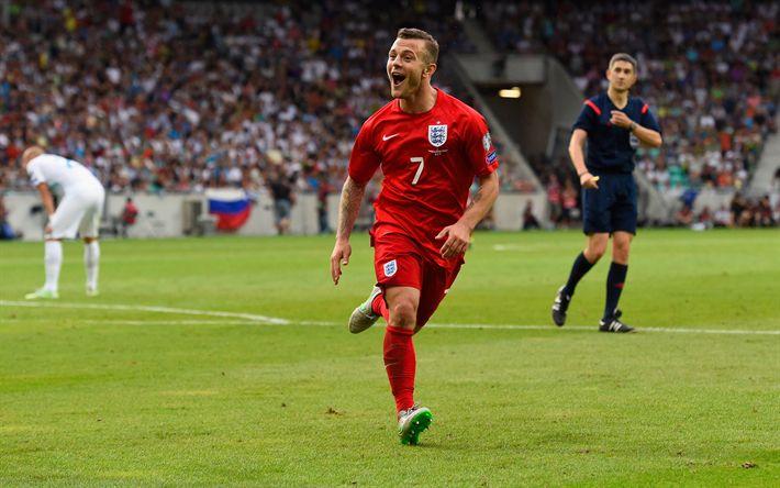 Download wallpapers Jack Wilshere, English footballer, 4k, football, England national football team
